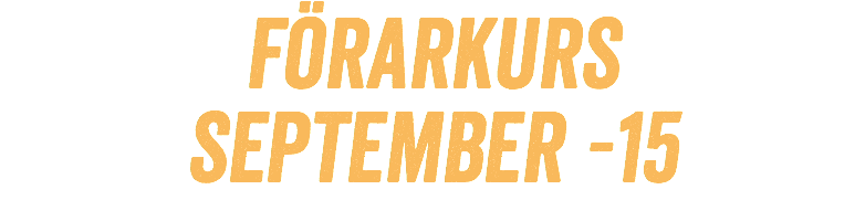 Förarkurs 